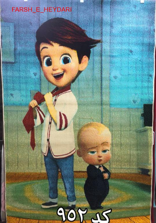 فرش عروسکی اتاق کودک کد 952