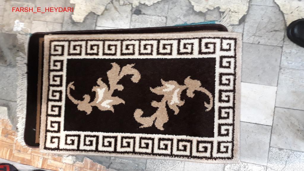 پادری فرش فانتزی نقشه ورساچه قهوه ای